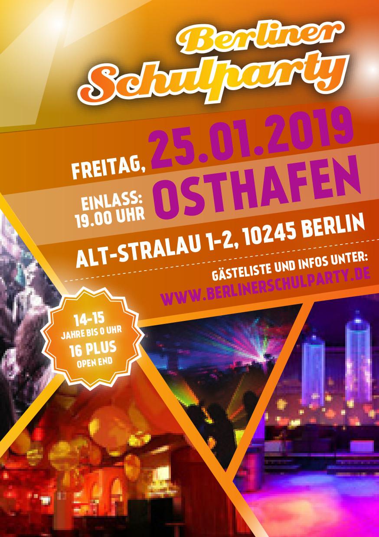 Osthafen / Freitag, 25. Januar 2019 / 19:00 Uhr